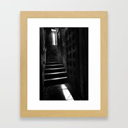 The Tower Stair- Cologne, Germany Framed Art Print