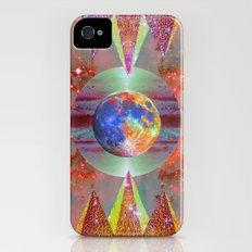 ☪elestial Pyramids Slim Case iPhone (4, 4s)