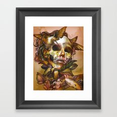 Queen of Enlightenment  Framed Art Print