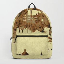 Glasgow Scotland Cityscape Backpack