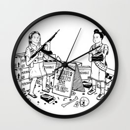 Support Your Scouts Wall Clock
