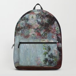 Chrysanthemums - Claude Monet Backpack