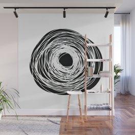 Spiral lines - Invert Wall Mural