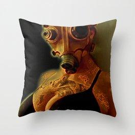 Breathe Deeply Throw Pillow