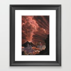 The Wild West Guide To The Galaxy # 23 Framed Art Print