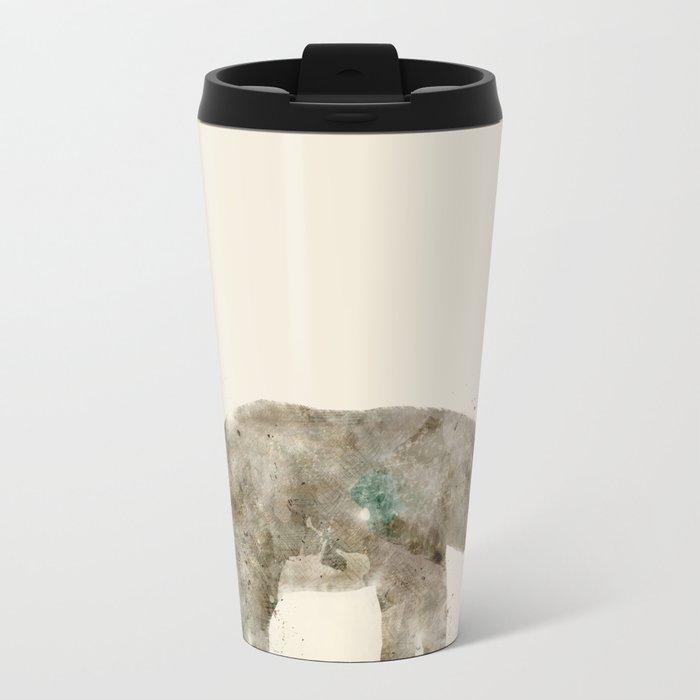 little elephant Metal Travel Mug
