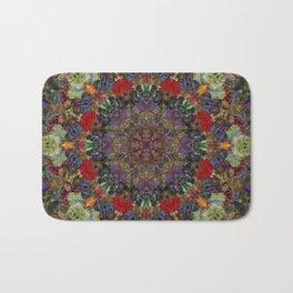Hallucination Mandala 3 Bath Mat
