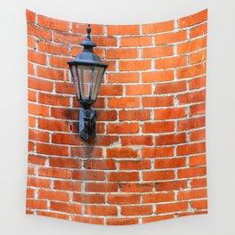 Brick Wall Light Wall Tapestry