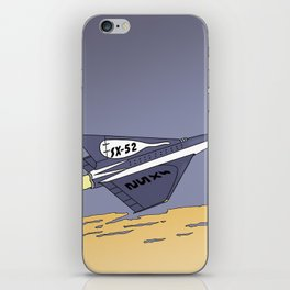 SX-52 - Tribute to Edgar P. Jacobs and Yves Chaland iPhone Skin