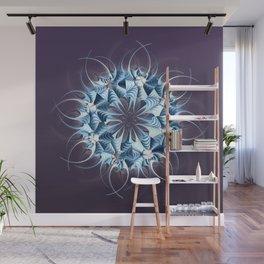 Wreath, mandala, star, flower, snowflake...? Wall Mural