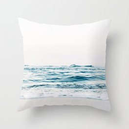 Calm Waves Throw Pillow