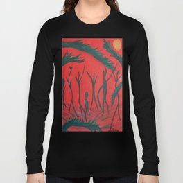 Red Jungle Long Sleeve T-shirt