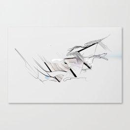 Three Canvas Print