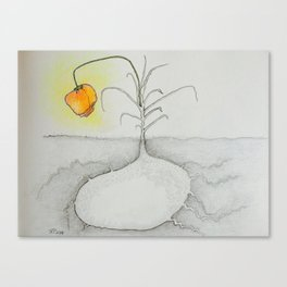 Shine Your Light Canvas Print