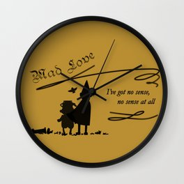 Mad Love Wall Clock