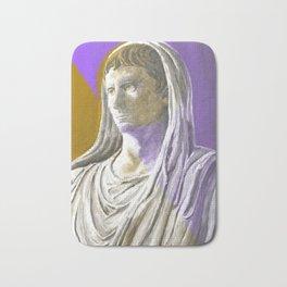 Augustus As Pontifex Maximus (Purple & Gold) Bath Mat