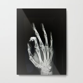 Everything is A-OK Metal Print
