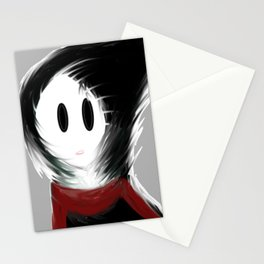 Gloomy Girl Stationery Cards