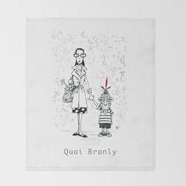 A Few Parisians by David Cessac: Quai Branly Throw Blanket