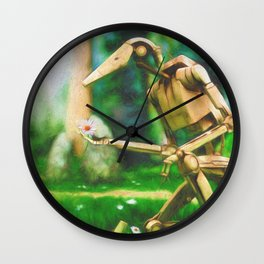 Battle Droid Pick-Me-Up Wall Clock