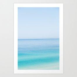 beach front Art Print
