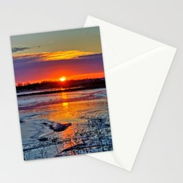 Reflective Evenings Stationery Cards
