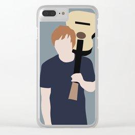 Ed // Billboard Clear iPhone Case