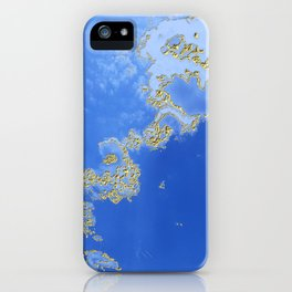 Orencyel : sky gazing before this golden melody iPhone Case