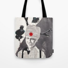'I like the way the trees are on the mountain' Tote Bag