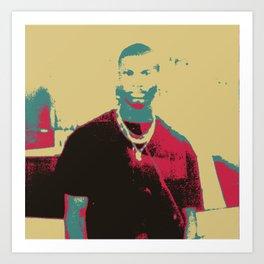 Black Youth Art Print