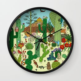 Arizona Desert Museum Wall Clock