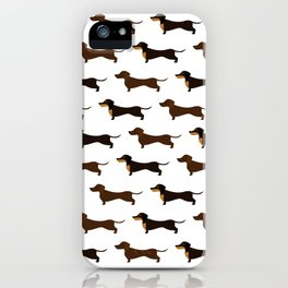 Dachshunds iPhone Case