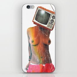 SEX ON TV by ZZGLAM iPhone Skin
