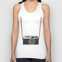 camera Tank Tops featuring Camera by Illustrated by Jenny