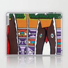 GOOD EVENING and WELCOME to the AIRPORT to ANOTHER DIMENSION Laptop & iPad Skin