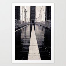 Brooklyn Bridge - 2  Art Print