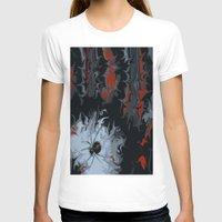black widow T-shirts featuring widow by Shea33