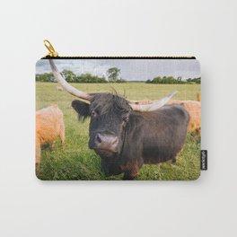 Highland Cow - Head Tilt Carry-All Pouch