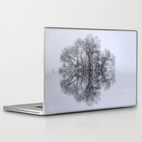 bebop Laptop & iPad Skins featuring Trees of Reflection by DebS Digs Photo Art