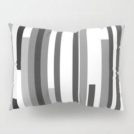 White Lines Pillow Sham