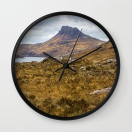 Moorland Views Wall Clock