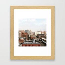 NYC Summer Framed Art Print