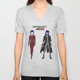 Ghost in the Shell Arise Unisex V-Neck