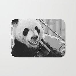 Panda Bear Munchies Bath Mat