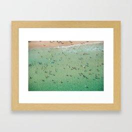 Bondi Boogie Framed Art Print