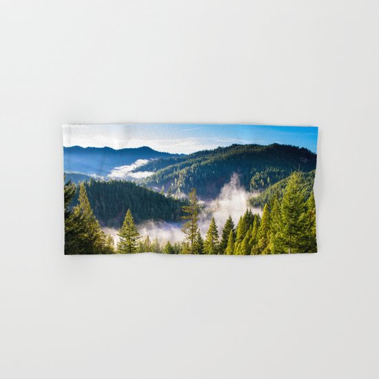 Smoke on the Mountains Hand & Bath Towel