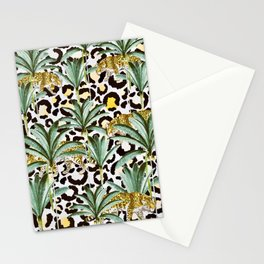 Jungle prowl Stationery Cards