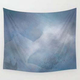 Winter Storm Wall Tapestry