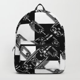 Chained Checkers Backpack