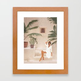 Graceful Resting II Framed Art Print